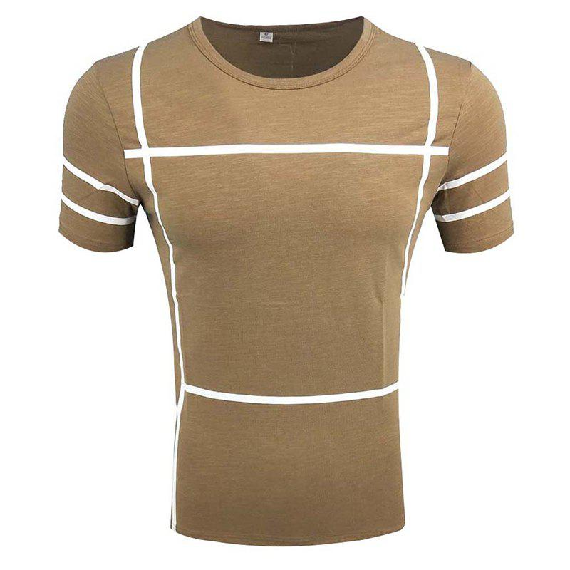 Best Men's Short Sleeve Round Neck Simple T-shirt