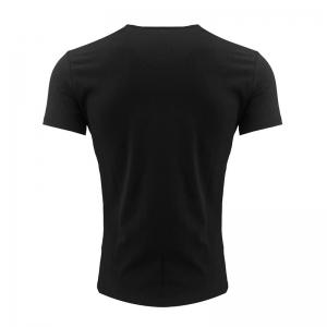 Men's Printed Round Neck T-shirt -