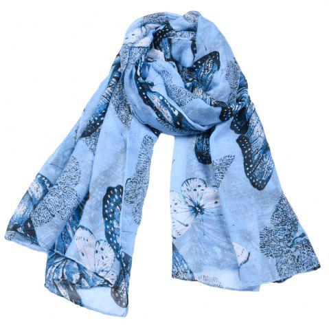 Trendy Women Popular Rose Printed Stain Scarves and Shawls Oversized