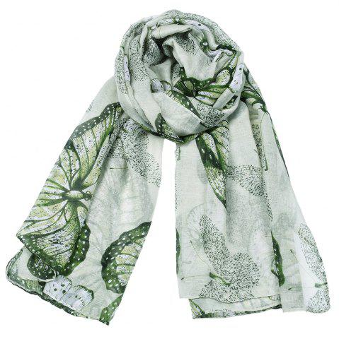 Discount Women Popular Rose Printed Stain Scarves and Shawls Oversized