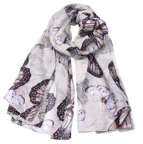Affordable Women Popular Rose Printed Stain Scarves and Shawls Oversized