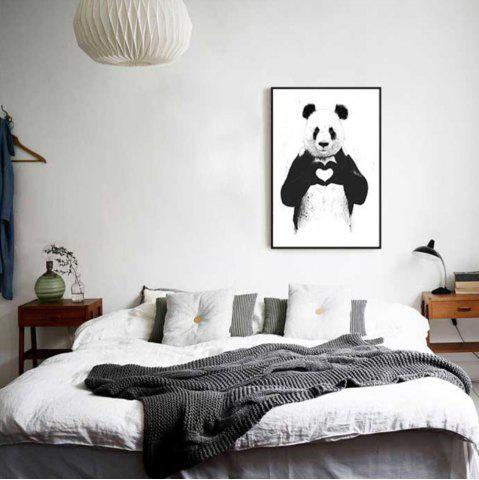 Affordable Creative American Style Fresh Panda Adornment Oil Painting