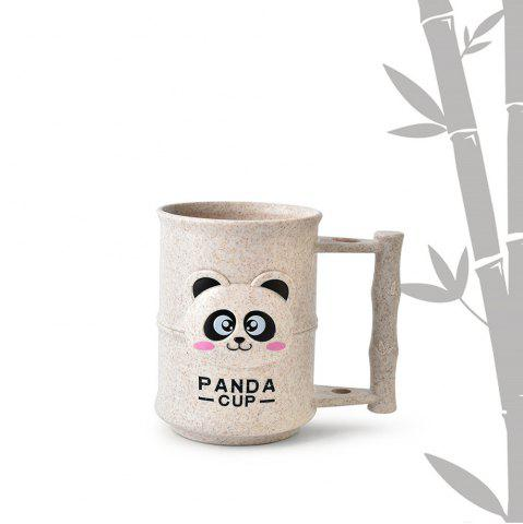 New 1PC Creative Design Adorable Cartoon Panda Pattern  Toothbrush Cup
