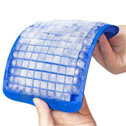 160 Grid Squares Mini Small Food Grade Silicone Ice Cube Tray -