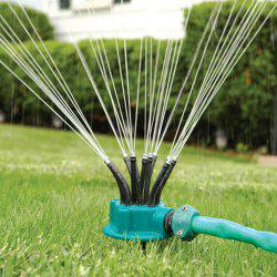 360 Degrees Automatic Flexible Garden Yard Sprinkler Multi-head Watering Tools Irrigation Spray Shower -