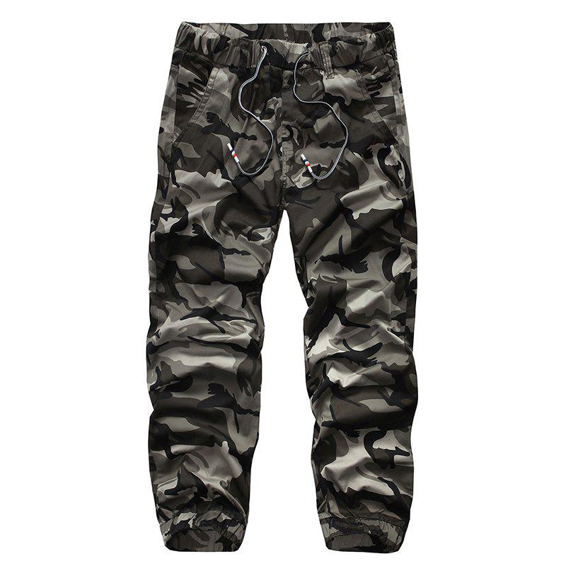 Chic Loose Multi-pocket Men's Outdoor Camouflage Pants