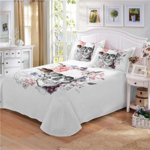 Rose Fear Personality Decorative Pattern Bedding Set AS92-A -