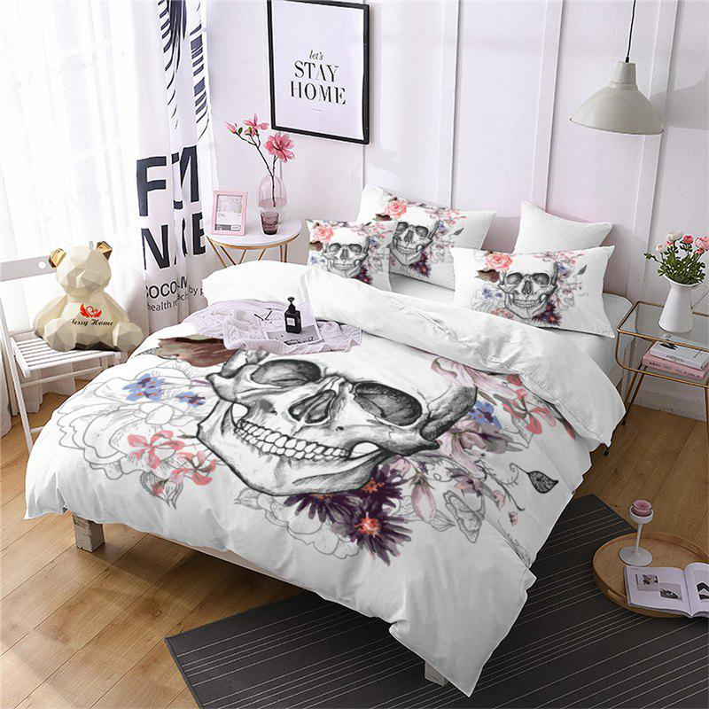 Best Rose Fear Personality Decorative Pattern Bedding Set AS92-A