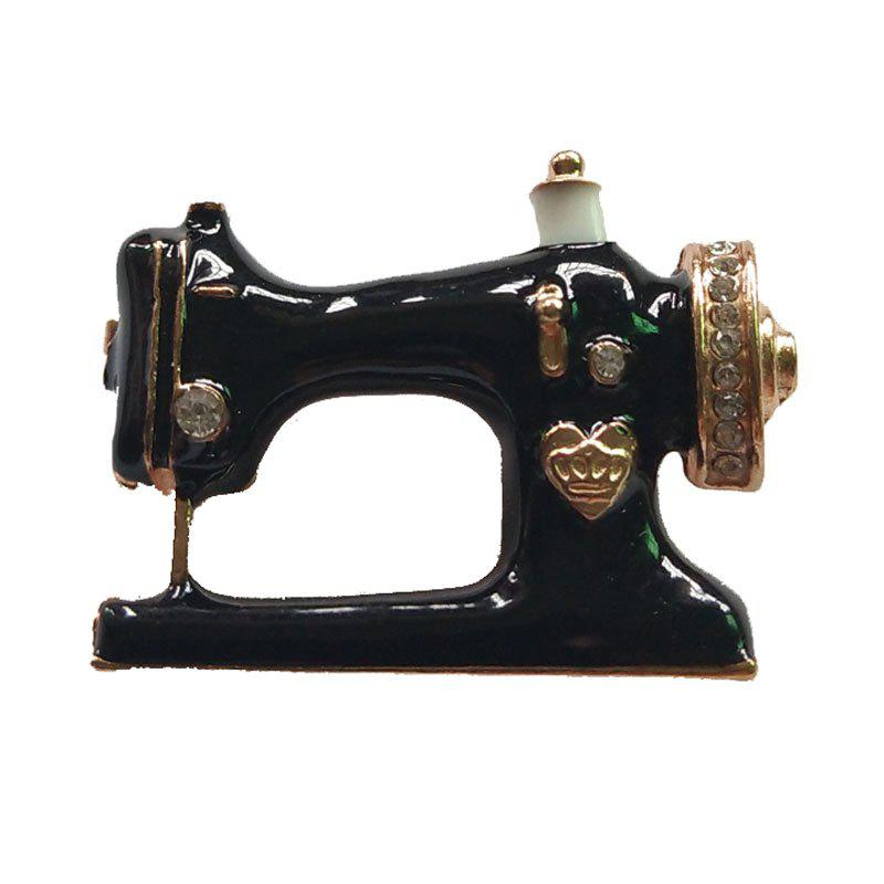 Sale Personalized Black Sewing Machine Brooch Bag Pin Accessories
