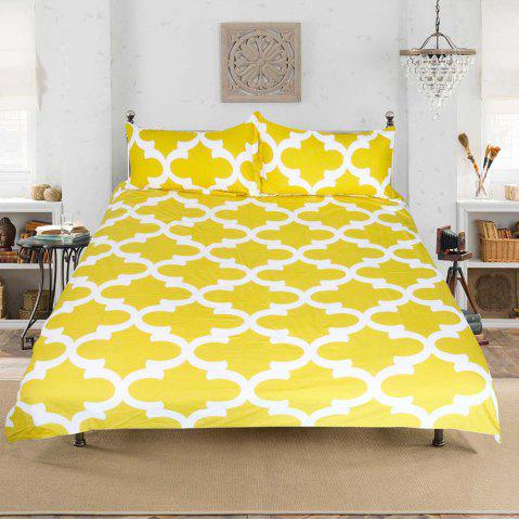 Hot Lemon Bedding  Simple Style Duvet Cover Set 3pcs