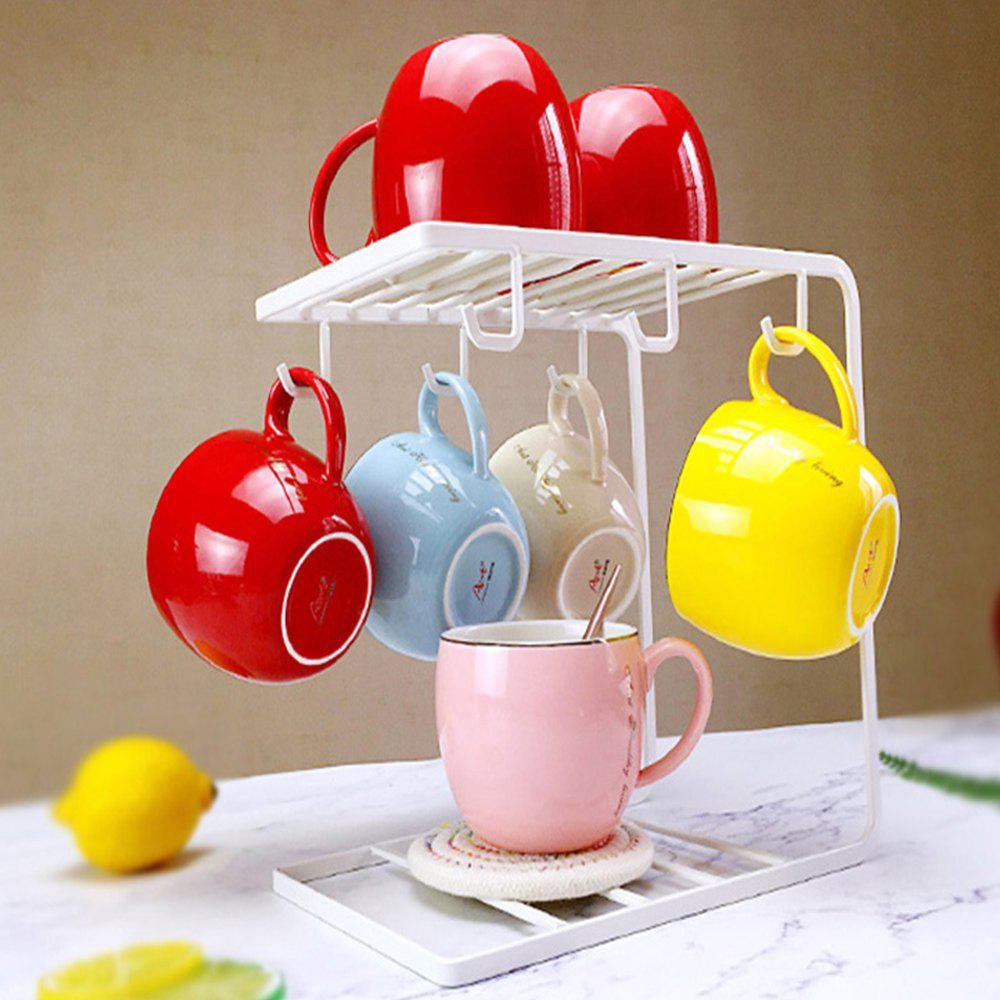 39 Off Stainless Steel Coffee Cup Rack Shelf Stand Kitchen Tool
