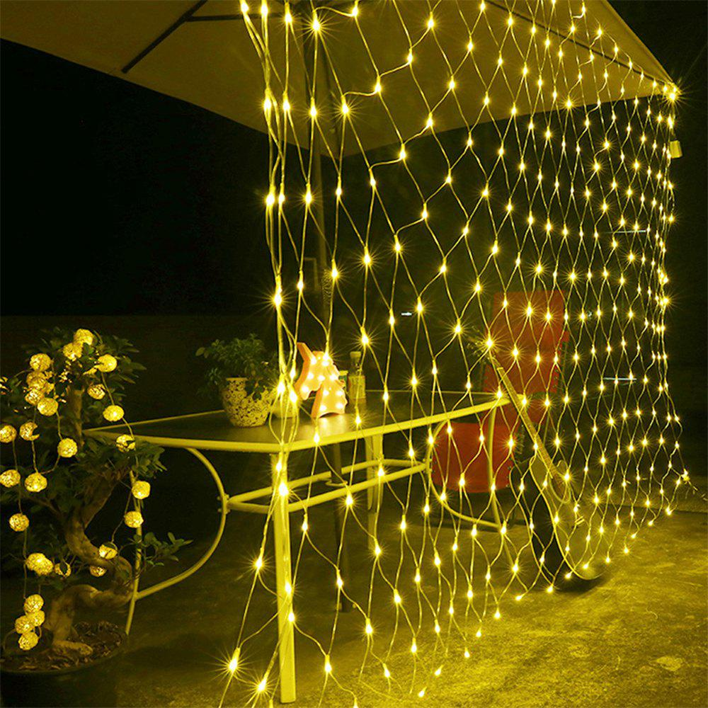 Outdoor String Lights South Africa: 2019 96 Leds Fairy Fishing Mesh Net String Lighting