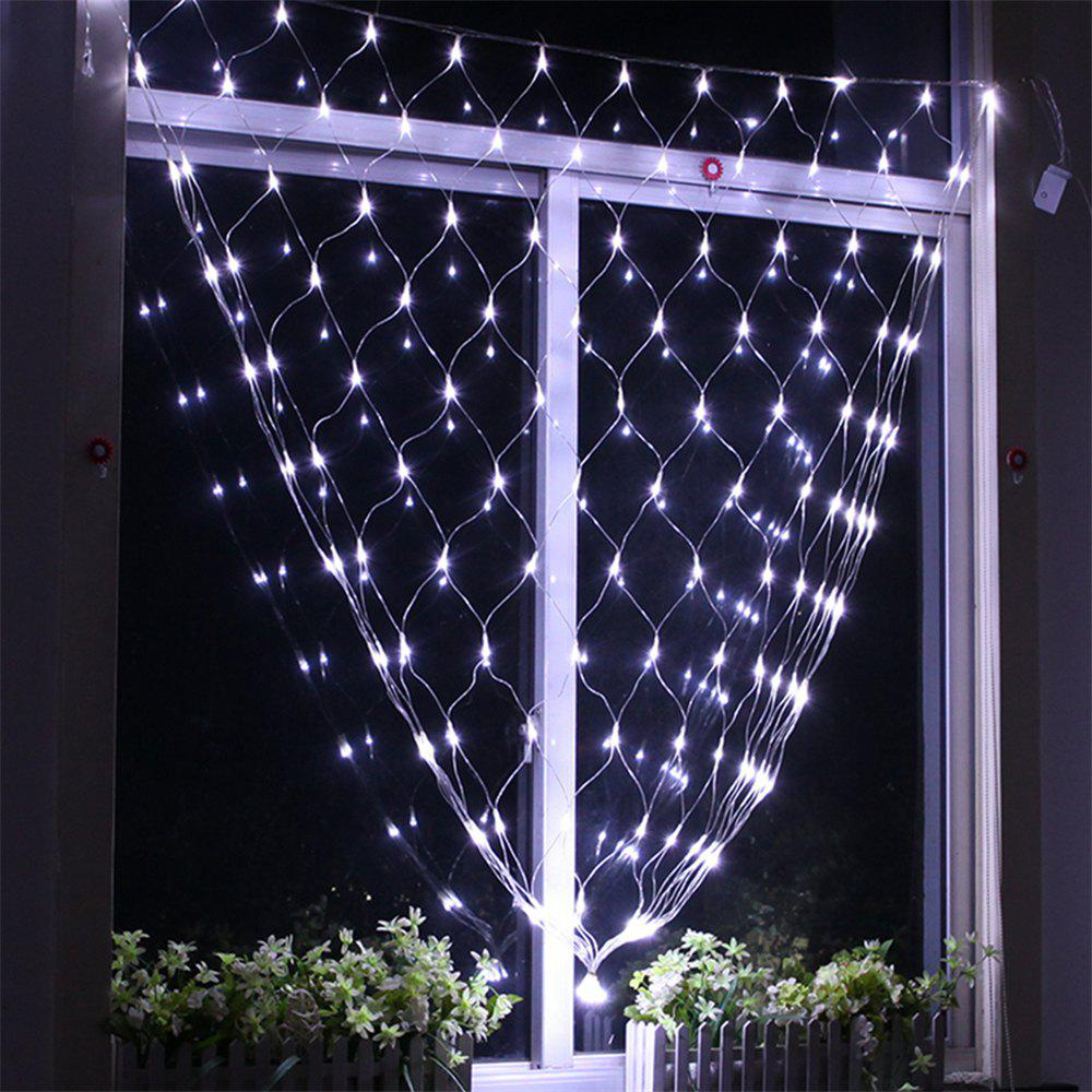 Unique 96 LEDs Fairy Fishing Mesh Net String Lighting Outdoor Party Festival Decoration