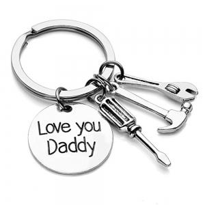 Key Chain Keyring for Fashion Jewelry Father Day Gift -