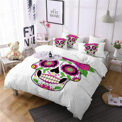 AS87-A Rose Fear Personality Decorative Pattern Bedding Set -