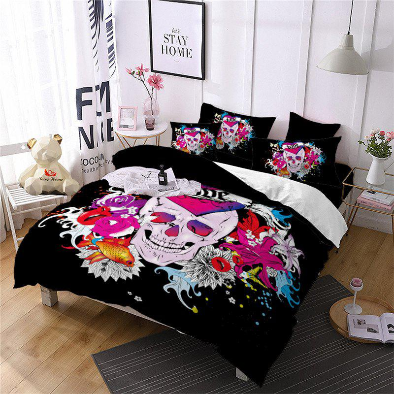 Outfit Rose Fear Personality Dynamic Rock Band Decorative Pattern Bedding Set AS88-B