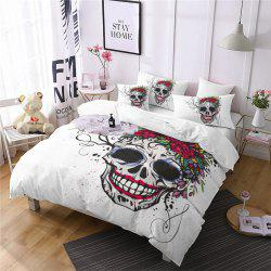 Rose Fear Personality Decorative Pattern Bedding Set AS90-A -