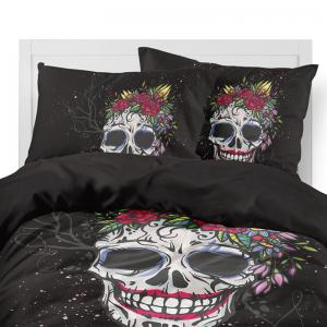 Rose Fear Personality Decorative Pattern Bedding Set AS90-B -