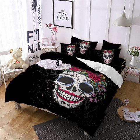 New Rose Fear Personality Decorative Pattern Bedding Set AS90-B