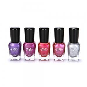 Mirror Nail Polish Plating Silver Paste Metal Shiny Lacquer Varnish -