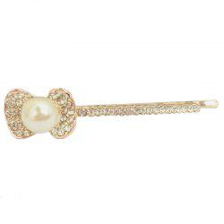 New Korean Popular Temperament Lady Bow Diamond Hairpin -