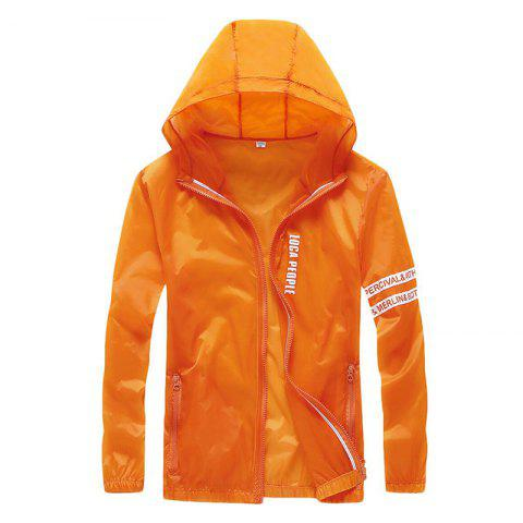 Affordable Men Outdoor Sport UV Sun Protection Quick Dry Slim-Fit Thin Transparent Jacket