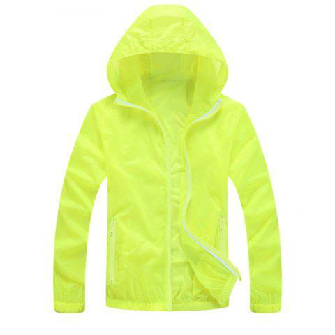 Affordable Men UV Sun Protection Quick Dry Slim-Fit Thin Transparent Jacket