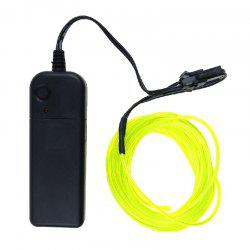 3m Neon Light Electroluminescent Wire / El Wire with Battery Pack -