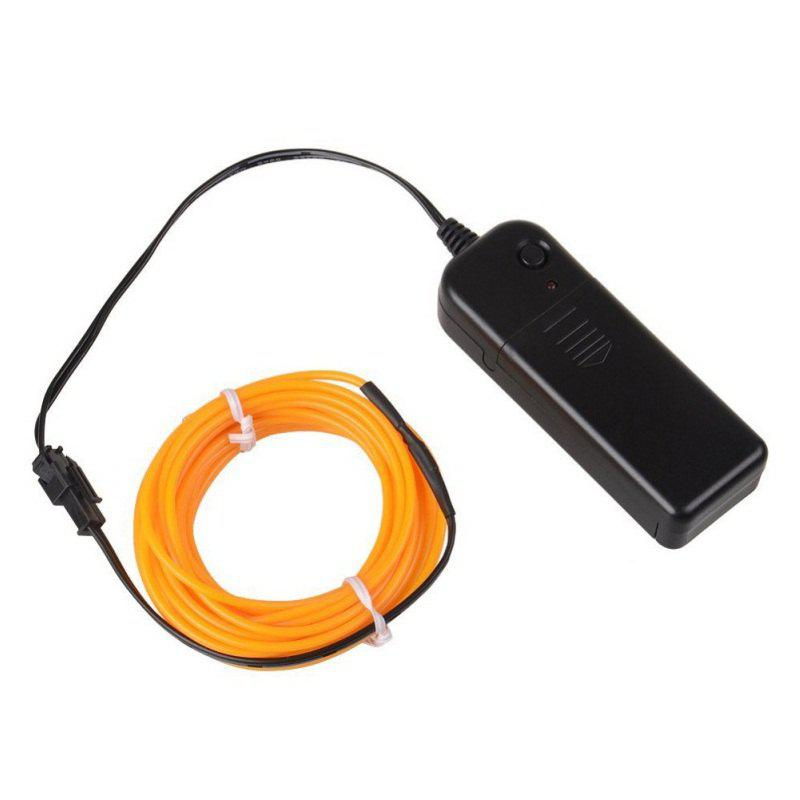 Online 3m Neon Light Electroluminescent Wire / El Wire with Battery Pack