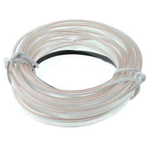Unique 3m USB Neon LED Light Glow Electroluminescent Wire / El Wire for Car Cosplay