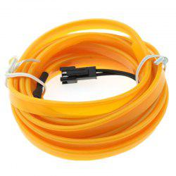 3m USB Neon LED Light Glow Electroluminescent Wire / El Wire for Car Cosplay -