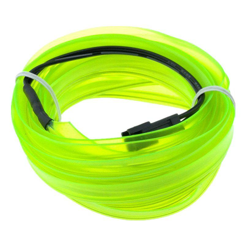 Shop 3m USB Neon LED Light Glow Electroluminescent Wire / El Wire for Car Cosplay