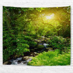 Forest Creek  3D Printing Home Wall Hanging Tapestry for Decoration -