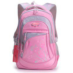 Ruipai 1167 Korean Style Cartoon Children's Backpack Flower Printed School Bag -