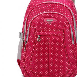 Ruipai 1126 Popular Style Polkadot Print School Bag Children's Backpack -