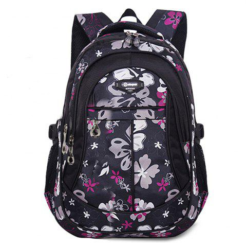 Best Ruipai 8763 Korean Style Durable Waterproof Children's Backpack Print School Bag