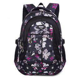 Ruipai 8763 Korean Style Durable Waterproof Children's Backpack Print School Bag -