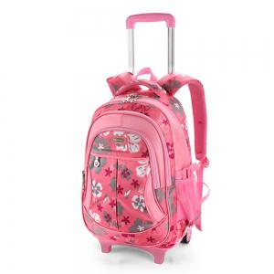 Ruipai 18001 Removable Children's Backpack Print Trolley School Bag -