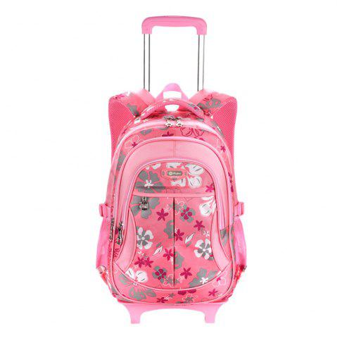 Affordable Ruipai 18001 Removable Children's Backpack Print Trolley School Bag