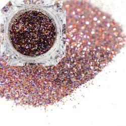 Platinum Shiny Nail Glitter Powder Diamond Manicure Chrome Pigment -