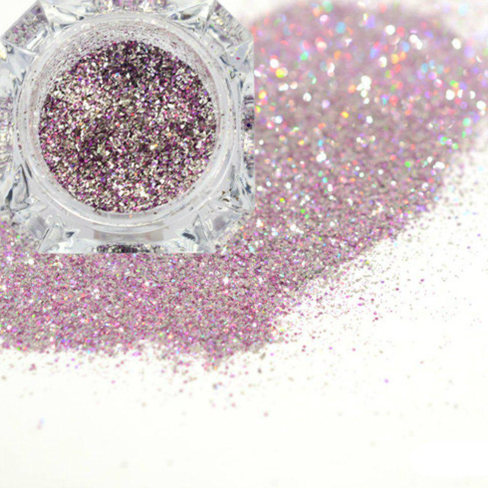 Latest Platinum Shiny Nail Glitter Powder Diamond Manicure Chrome Pigment