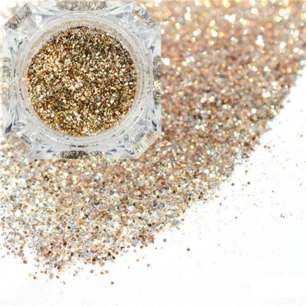 Outfits Platinum Shiny Nail Glitter Powder Diamond Manicure Chrome Pigment