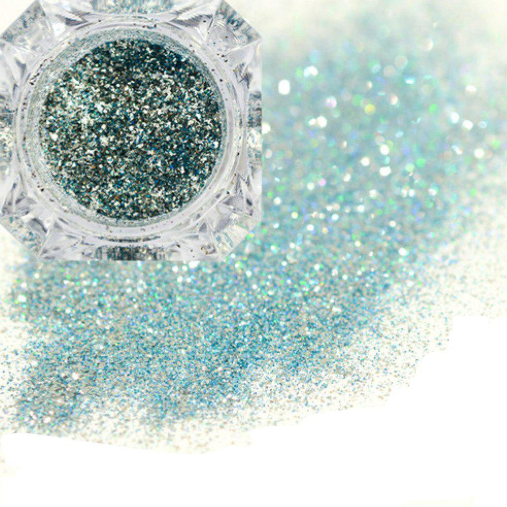 Discount Platinum Shiny Nail Glitter Powder Diamond Manicure Chrome Pigment