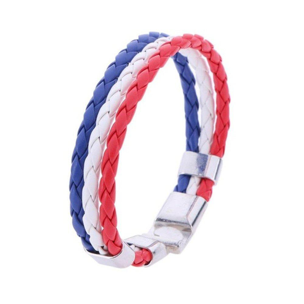 Hot National Unisex Bracelet for Football Soccer Fans