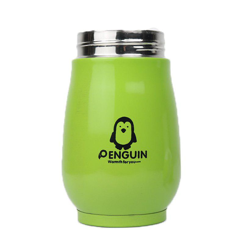 Sale Candy Color Thermos Stainless Steel Penguin Vacuum Flask Cup for Children 250ml