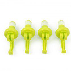 Silicone Wine Bottle Stoppers Beer  Cork Plug 4PCS -