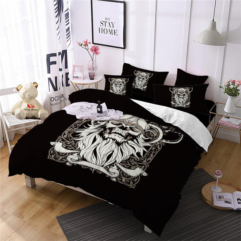 Shops AS115-B Orc Rose Fear Personality Decorative Pattern Bedding Set