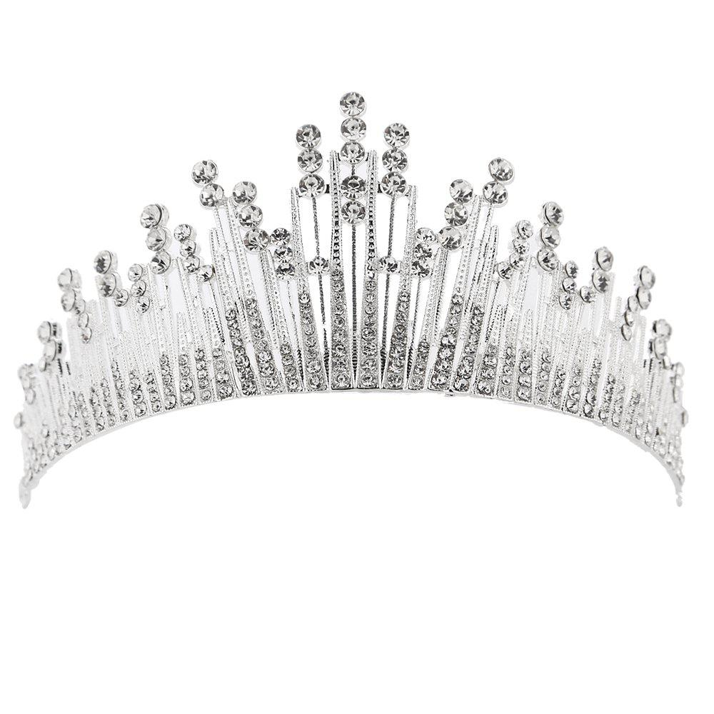 Chic New Fashion Imperial Crown Head Ornament Adornment