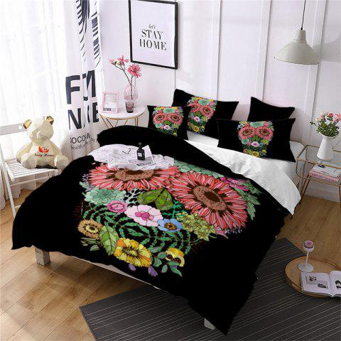 Outfits AS96-B Rose Fear Personality Decorative Pattern Bedding Set