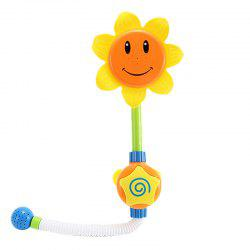 Baby Funny Water Game Bath Toy Sunflower Shower Faucet -